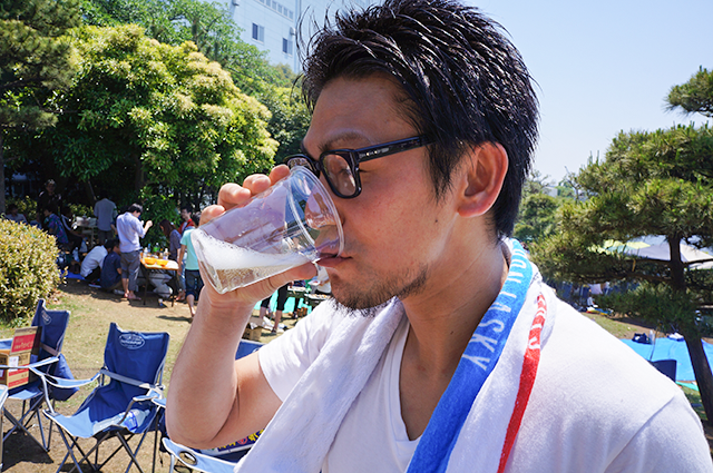 新木場公園BBQイベント2014/6/1
