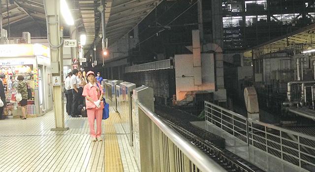 東京駅の清掃員